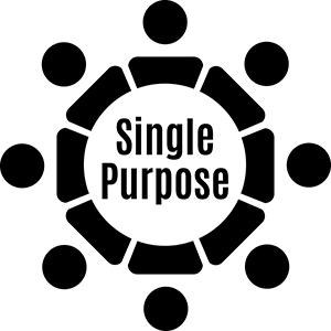 Single Purpose logo