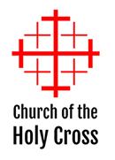 Holy Cross Shirt logo -Jerusalem Cross with text underneath
