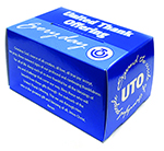 United Thank Offering blue collection box
